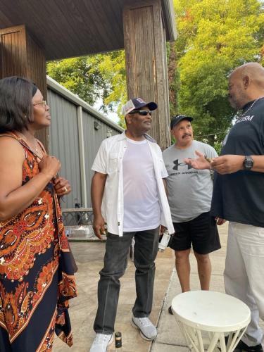 Houston Black Firefighters BBQ Social